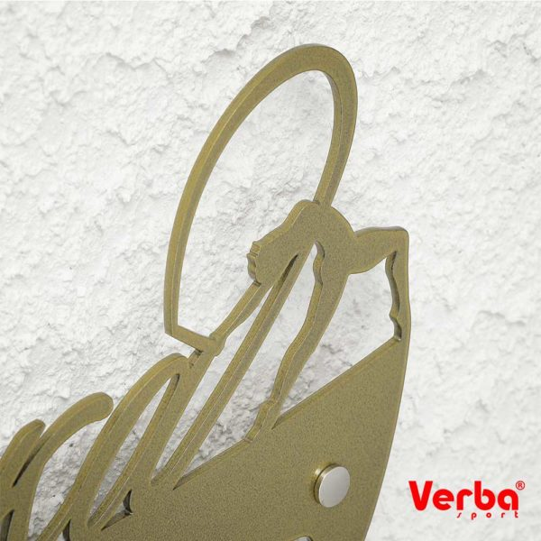 Медальница Verba 73см. золотой