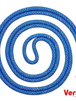 Скакалка Verba «String» 3м. синяя с серебристым