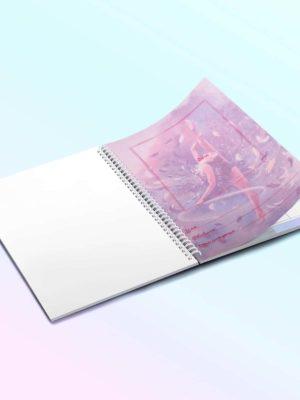 Дневник гимнастки «Гимнастка с обручем»