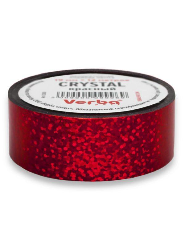 Обмотка для обруча Verba Crystal красный