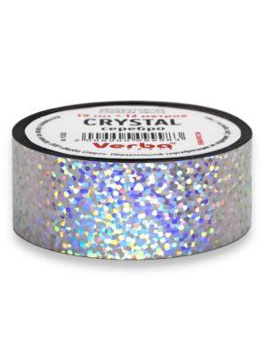 Обмотка для обруча Verba Crystal серебро