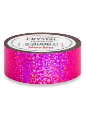 Обмотка для обруча Verba Crystal розовый