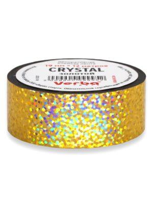Обмотка для обруча Verba Crystal золотой