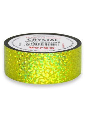 Обмотка для обруча Verba Crystal флуо-желтый