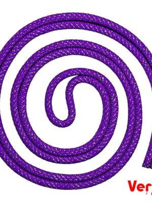 Скакалка Verba «String» 3м. фиолетовый с серебристым
