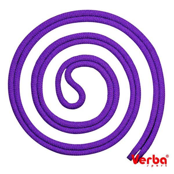 Скакалка Verba «Line» 3м. фиолетовый
