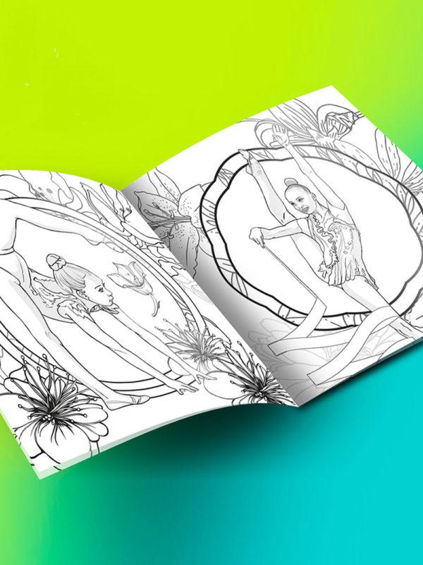 Раскраска «Времена года» Лето