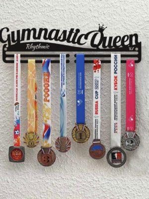 Медальница «Королева гимнастики» 50 см.
