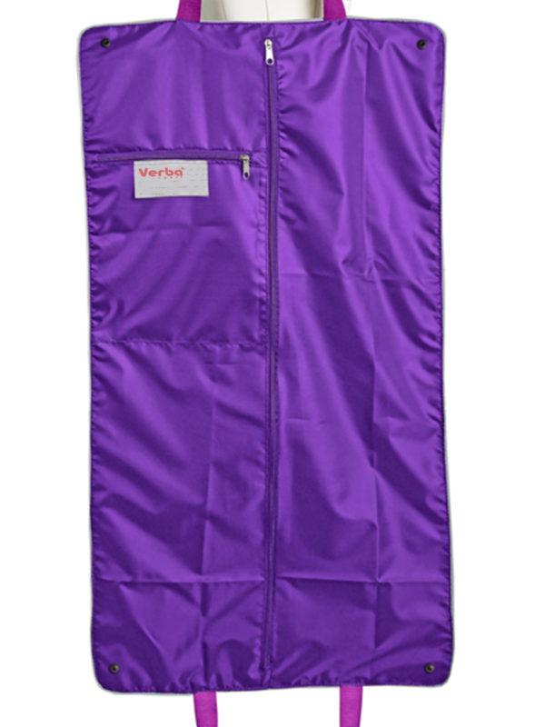 Портплед для платья VERBA 051 фиолетовый/лента 85*47