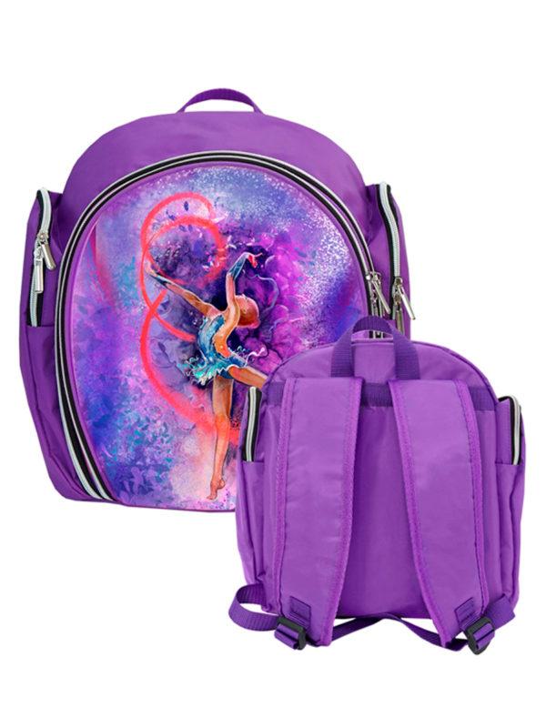 Рюкзак VERBA S 051 фиолетовый/лента 33*28*15