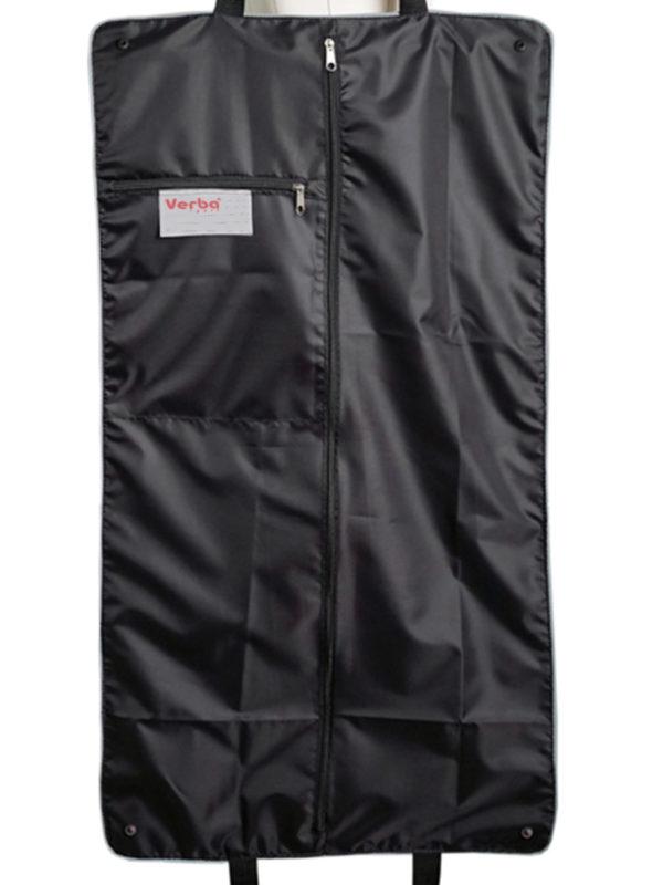 Портплед для платья VERBA 052 черный/лента