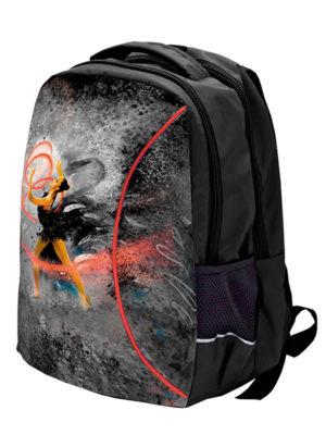 Рюкзак VERBA M 052 черный/лента 37*29*12
