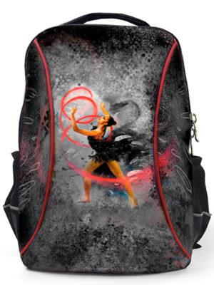 Рюкзак VERBA L 052 черный/лента 42*30*17