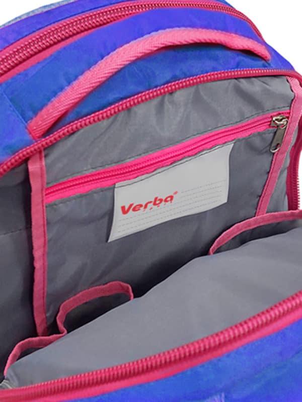 Рюкзак VERBA L 053 голубой/обруч 42*30*17