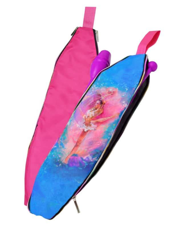 Чехол для булав VERBA 054 розовый/мяч