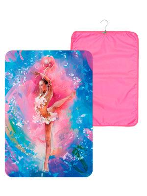 Чехол для платья VERBA 054 розовый/мяч