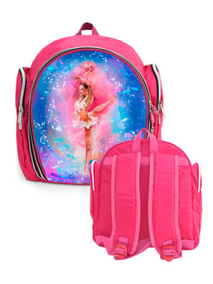 Рюкзак VERBA S 054 розовый/мяч 33*28*15