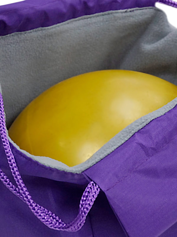Чехол для мяча VERBA 051 фиолетовый/лента