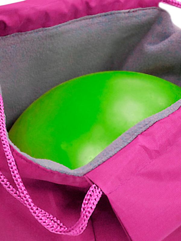 Чехол для мяча VERBA 054 розовый/мяч