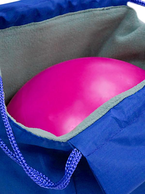 Чехол для мяча VERBA 053 голубой/обруч