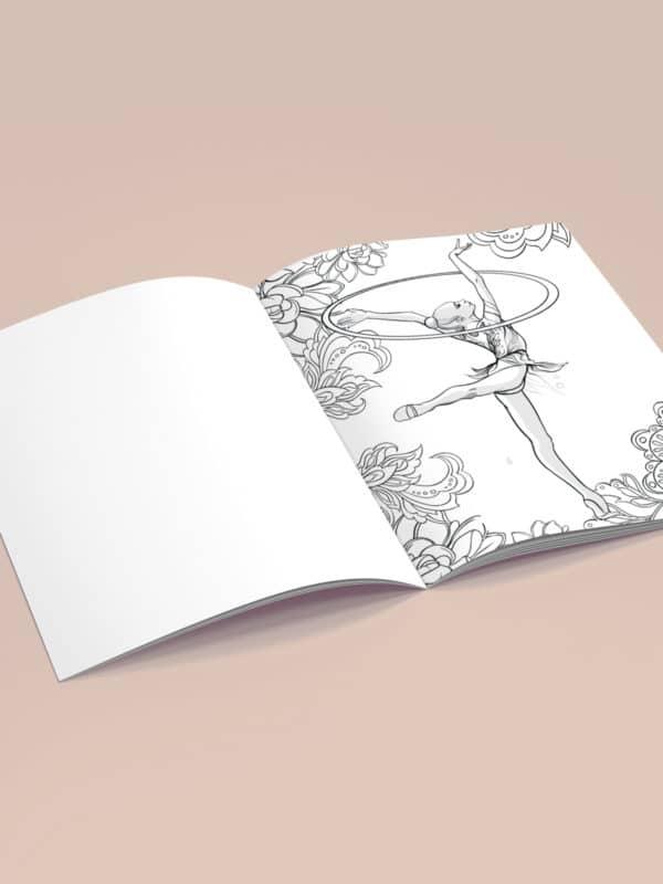 Раскраска «Рисуй с художником», «Жемчужина»